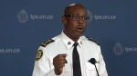 Toronto Police Chief Mark Saunders