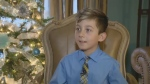 Nine-year-old Vitali Monetz has started a project that provides seniors with gifts for the holiday season.