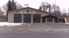 The fire hall in Wingham is pictured on Friday, Dec. 8, 2017.