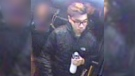 A person of interest in a pair of sexual assaults in East Vancouver is seen in this surveillance photo released by Vancouver police.