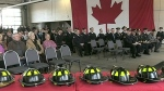 Graduation day for new firefighters