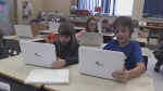 Students at Sacred Heart in Timmins learn coding