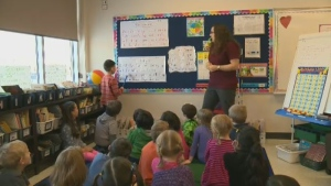 The Alberta Teachers' Association is concerned over the growing classroom sizes in Alberta.
