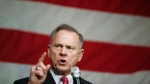 In this Dec. 5, 2017 photo, former Alabama Chief Justice and U.S. Senate candidate Roy Moore speaks at a campaign rally, in Fairhope Ala. (AP Photo/Brynn Anderson, File)