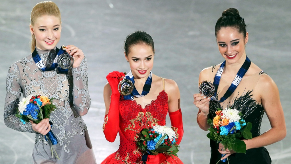 Bronze winner Kaetlyn Osmond of Canada