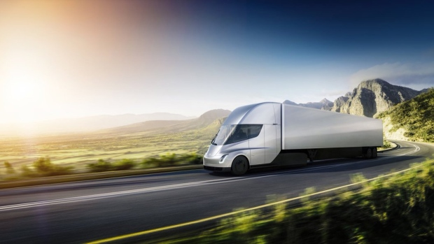Tesla secures big order for its electric trucks from anheuser busch tesla secures big order for its electric trucks from anheuser busch mozeypictures Gallery