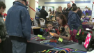Vendors at Regina Centennial Holiday Market