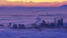 fog, vancouver, B.C.