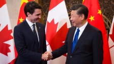Trudeau meets Chinese President Xi Jinping