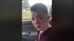 Keaton Jones is seen on Dec. 9, 2017.
