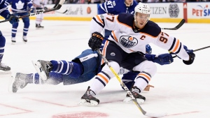 Connor Mcdavid Held Off Scoresheet Again As Oilers Fall To Maple Leafs Ctv News