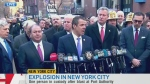 NYC officials say there was an explosion, causing