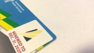 Saskatchewan health care card.