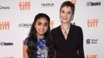 Saara Chaudry, left, and director Nora Twomey attend a premiere for 'The Breadwinner' on day 4 of the Toronto International Film Festival at the Winter Garden Theatre on Sunday, Sept. 10, 2017, in Toronto. (THE CANADIAN PRESS/AP-Invision-Evan Agostini)
