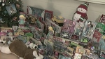 Jean Steckle PS donates to Toy Mountain