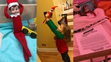 Christy Heins announced her Elf on the Shelf's 'retirement' in a letter to her daughters from Santa. (Facebook)