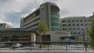 Southlake Regional Health Centre's Emergency Room is pictured in Newmarket. (Google)