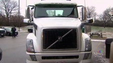 Cracking down on transport truck drivers