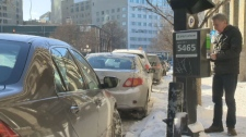 The City of Winnipeg's 2018 budget proposes a parking increase of $1.50, meaning metered parking in the core will go from $2 to $3.50.