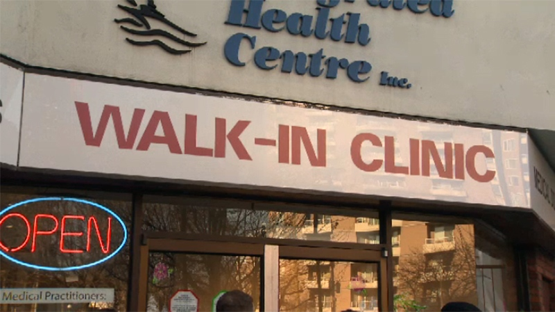 doctor shortage walk-in clinic