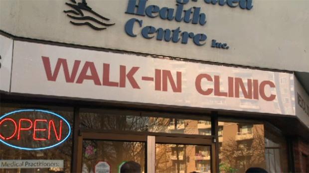 doctor shortage walk-in clinic