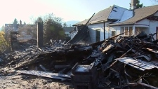 Residents honour senior killed in Cumberland fire