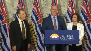 John Horgan site c announcement