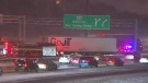 Police are reminding drivers to slow down as the city faces the first significant snowfall of the season.