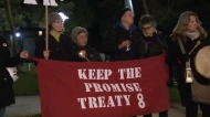 Rally held in Vancouver after Site C decision