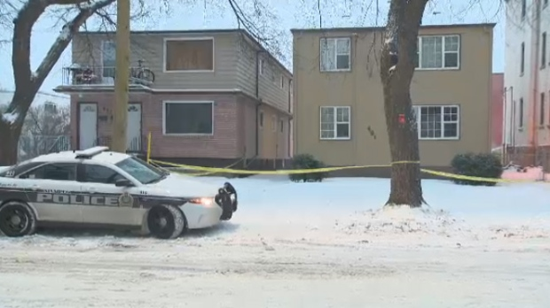 One man is in hospital in critical condition after being shot by police. (Ryan Harding/CTV)