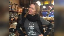 Kate Winslet back at Honey's Doughnuts