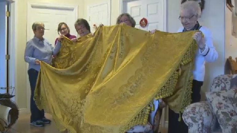 A Second World War souvenir from a son to a mother is in its original Cape Breton home.