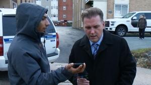 CTV News speaks to alleged suspect during standoff