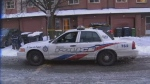 Toronto Police Services are on scene at Empiringham Drive and Sewells Road area after a medical complaint turned into a homicide investigation.