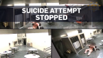Deputy catches inmate attempting to commit suicide