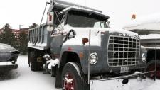 Mark Hoffman's truck
