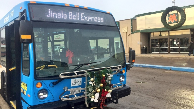 New Saskatoon Bus Route Travels Between Four Malls During Christmas