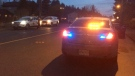 Police responded to a reported shooting in the area of Salsbury Road in Courtenay. Dec. 12, 2017. (CTV Vancouver Island)