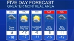 5-day weather