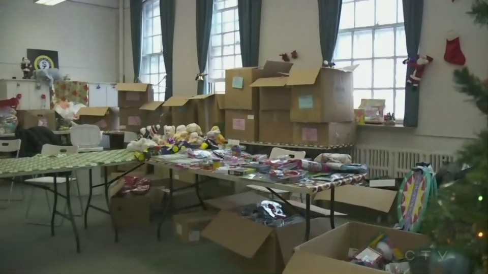 Sun Youth is preparing Christmas baskets to give to those in need