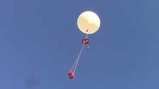 Anyone can launch a weather balloon, Hladiuk says, but strict rules from Transport Canada must be followed.