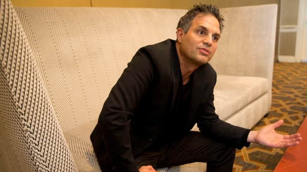 In this Dec. 8, 2017 photo, actor and environmental advocate Mark Ruffalo speaks during an interview in Atlanta. (AP / John Bazemore)