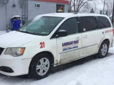 LaSalle Taxi in LaSalle, Ont., on Wednesday, Dec. 13, 2017. (Chris Campbell / CTV Windsor)