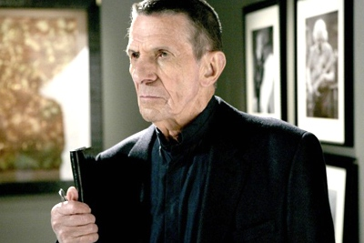 Leonard Nimoy guest-stars as William Bell, owner and founder of Massive Dynamics, in the 'Fringe' season finale. (Craig Blankenhorn / FOX)