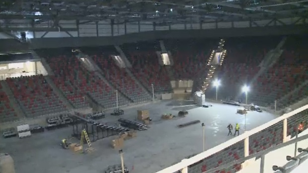 Moncton's new arena is expected to be completed by July, with a grand opening in September of 2018.
