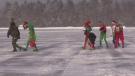CFB Borden elves deliver gifts to Sick Kids