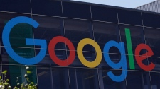 This Tuesday, July 19, 2016, file photo shows the Google logo at the company's headquarters in Mountain View, Calif. The relief Martin Streete felt the day he walked out of court a free man erodes with every click of Google's search button. THE CANADIAN PRESS/AP-Marcio Jose Sanchez