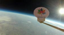 Calgary - Canada 150 stratosphere balloon