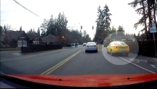 Caught on cam: Cabbie drives through red light