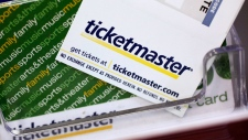 "FILE - In this May 11, 2009 file photo, Ticketmaster tickets and gift cards are shown at a box office in San Jose, Calif. Congress sent legislation to President Barack Obama that could make it easier to get tickets to popular shows, sports events and concerts. Legislation passed by the House on Dec. 7, 2016, would crack down on computer software used by ticket brokers to snap up tickets. The so-called ""bots"" rapidly purchase as many tickets as possible for resale at significant markups, and are one of the reasons why tickets to a Bruce Springsteen concert or ""Hamilton"" performance can sell out in just a few minutes. ""Hamilton"" producer Jeffrey Seller testified at a Senate hearing in September. He said the bots invade the Ticketmaster system the moment tickets go on sale and electronically purchase almost all the available inventory _ one of the reasons tickets to the hit musical about the life of founding father Alexander Hamilton have sold for $1,000 or more. (AP Photo/Paul Sakuma, File)"